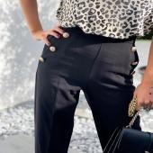 - Pantalon BELLA -  Notre réassort est enfin disponible dans nos boutiques ainsi que sur notre Eshop !  PSST il existe en vert bouteille 🙈❤️ #boutiqueangelsfleron #boutiqueangelsheusy #boutiqueangelsheusy #heusy #beaufays #fleron #liege #belgium #anywhere #beautifulgirl #blog #blogueusemode #blogueuse #mode #clothes #shop #onlineshopping #online #instagram #instaclothes #liege #blondehair #addicted #clothes #2021 #newcollection #outfitinspiration #outfitoftheday #pantalonboutons