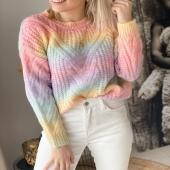 Voici notre Pull Inaya 🌈 qui fait partie déjà des TOPS VENTES sur notre Eshop 🤩 On se donne rendez-vous à partir d'aujourd'hui pour notre réassort ! #boutiqueangelsfleron #boutiqueangelsheusy #boutiqueangelsheusy #heusy #beaufays #fleron #liege #belgium #anywhere #beautifulgirl #blog #blogueusemode #blogueuse #mode #clothes #shop #onlineshopping #online #instagram #instaclothes #belgium #liege #blondehair #addicted #clothes #2021 #newcollection #outfitinspiration #outfitoftheday #arcenciel🌈 #clothing