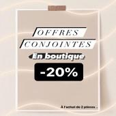 - OFFRES CONJOINTES -  Venez découvrir notre Collection PETITS PRIX à -20% ( à l'achat de 2 articles )  Et oui, bénéficiez déjà d'un avant soldes !  Dispo dans nos 3 boutiques 📍🛒🛍 Vite car le stock est limité !  #boutiqueenligne #belgium🇧🇪 #liege #boutiqueangelsfleron #boutiqueangelsheusy #boutiqueangelsbeaufays #boutiqueangels #instagram #instaclick #instaclothes #outfitinspiration #outfitoftheday #instalike #november2020 #blogger #bloggerstyle #blogueusebelge #offresconjointes