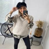 - ESHOP - @boutique_angels.be  Notre débardeur Pull Carmelina existe en plusieurs et s'associe avec tout chemisier à motif !  Super tendance 😍 #boutiqueangelsfleron #boutiqueangelsheusy #boutiqueangelsheusy #heusy #beaufays #fleron #liege #belgium #anywhere #beautifulgirl #blog #blogueusemode #blogueuse #mode #clothes #shop #onlineshopping #online #instagram  #instaclothes #outfitoftheday #instagramclothes #belgium🇧🇪