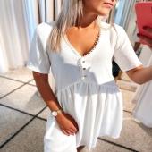 - NEW CO -  Disponible sur notre eshop en Blanc & Noir ! Elle est super agréable et doublé dans le bas 🥰 !  Vite vite car le stock est limité .. 🛒 #boutiqueangelsfleron #boutiqueangelsheusy #boutiqueangelsheusy #heusy #beaufays #fleron #liege #belgium #anywhere #beautifulgirl #blog #blogueusemode #blogueuse #mode #clothes #shop #onlineshopping #online #instagram  #dress #whyte #beautygirl #beautydress