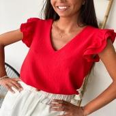 Blouse Nina ⚡️ Découvrez la nouvelle collection sur notre eshop ! La blouse Nina existe en plusieurs couleurs ! En un clic, elle est dans votre panier 🛒❤️  #boutiqueangelsfleron #boutiqueangelsheusy #boutiqueangelsheusy #heusy #beaufays #fleron #liege #belgium #anywhere #beautifulgirl #blog #blogueusemode #blogueuse #mode #clothes #shop #onlineshopping #online #instagram #instaclothes #liege #blondehair #addicted #clothes #2021 #newcollection #outfitinspiration #outfitoftheday