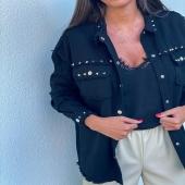 Veste Laurie -  PSSST elle vient tout juste d'être mise en ligne ! ❤️😍 Dépêchez-vous car le stock est limité !  #boutiqueangelsfleron #boutiqueangelsheusy #boutiqueangelsheusy #heusy #beaufays #fleron #liege #belgium #anywhere #beautifulgirl #blog #blogueusemode #blogueuse #mode #clothes #shop #onlineshopping #online #instagram #instaclothes #liege #blondehair #addicted #clothes #2021 #newcollection #outfitinspiration #outfitoftheday #laurie #veste